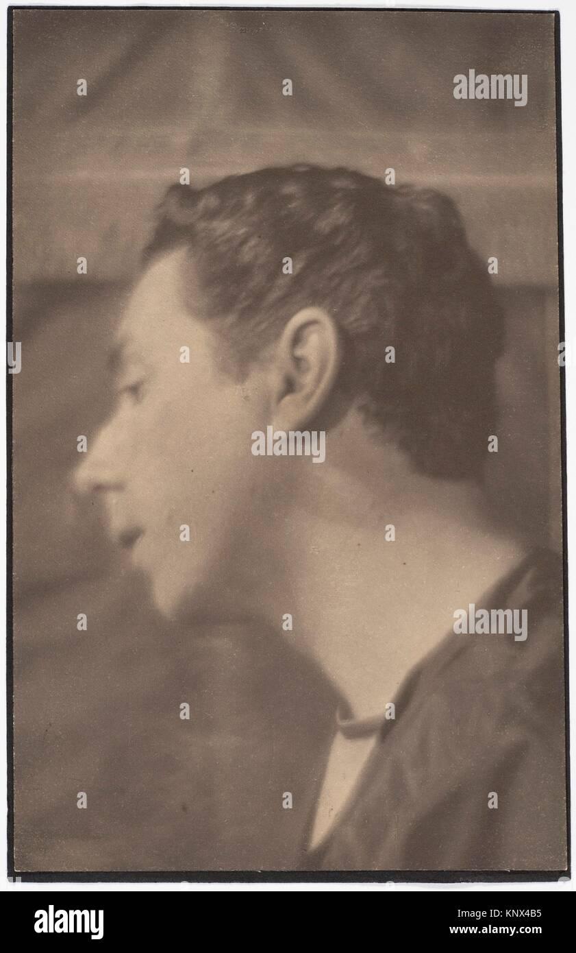 Baron Adolph de Meyer. Artist: Gertrude Käsebier (American, 1852-1934); Date: 1903; Medium: Platinum print; - Stock Image