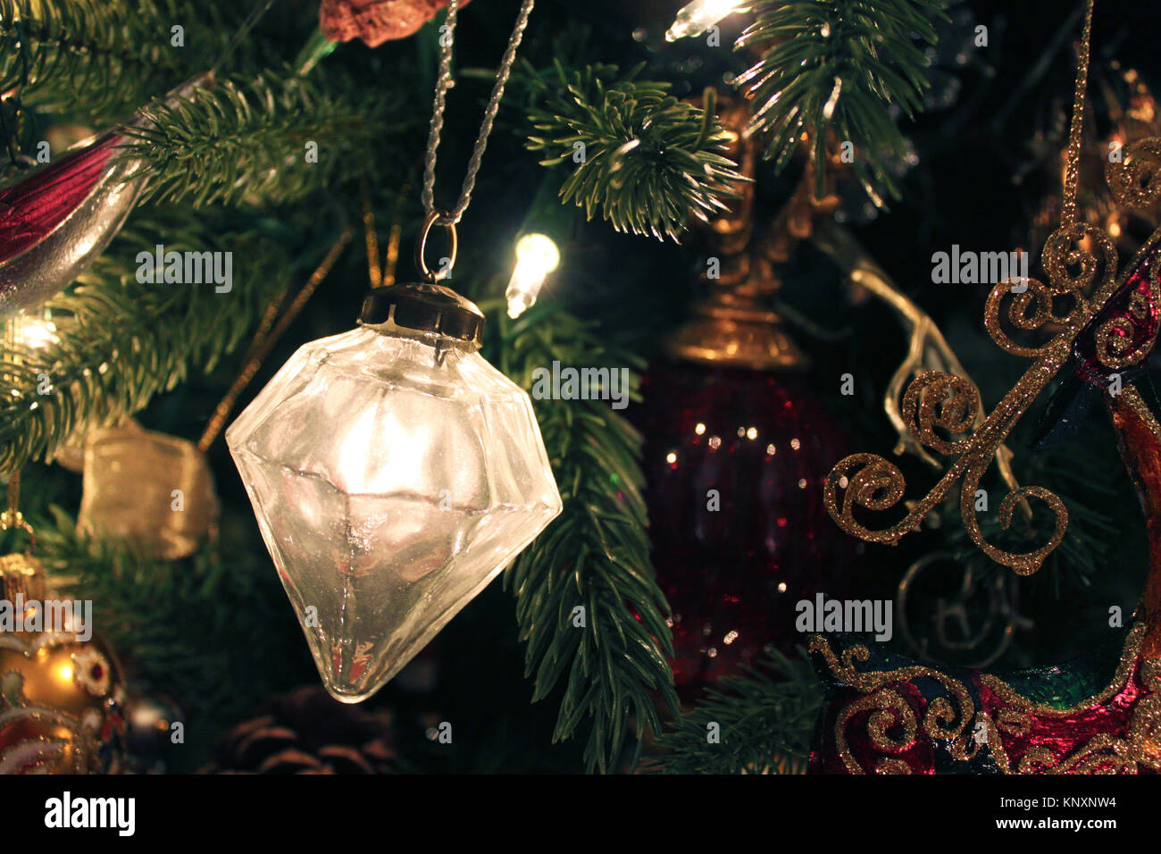 Old Fashioned Christmas Tree Ornament Stock Photos & Old Fashioned ...