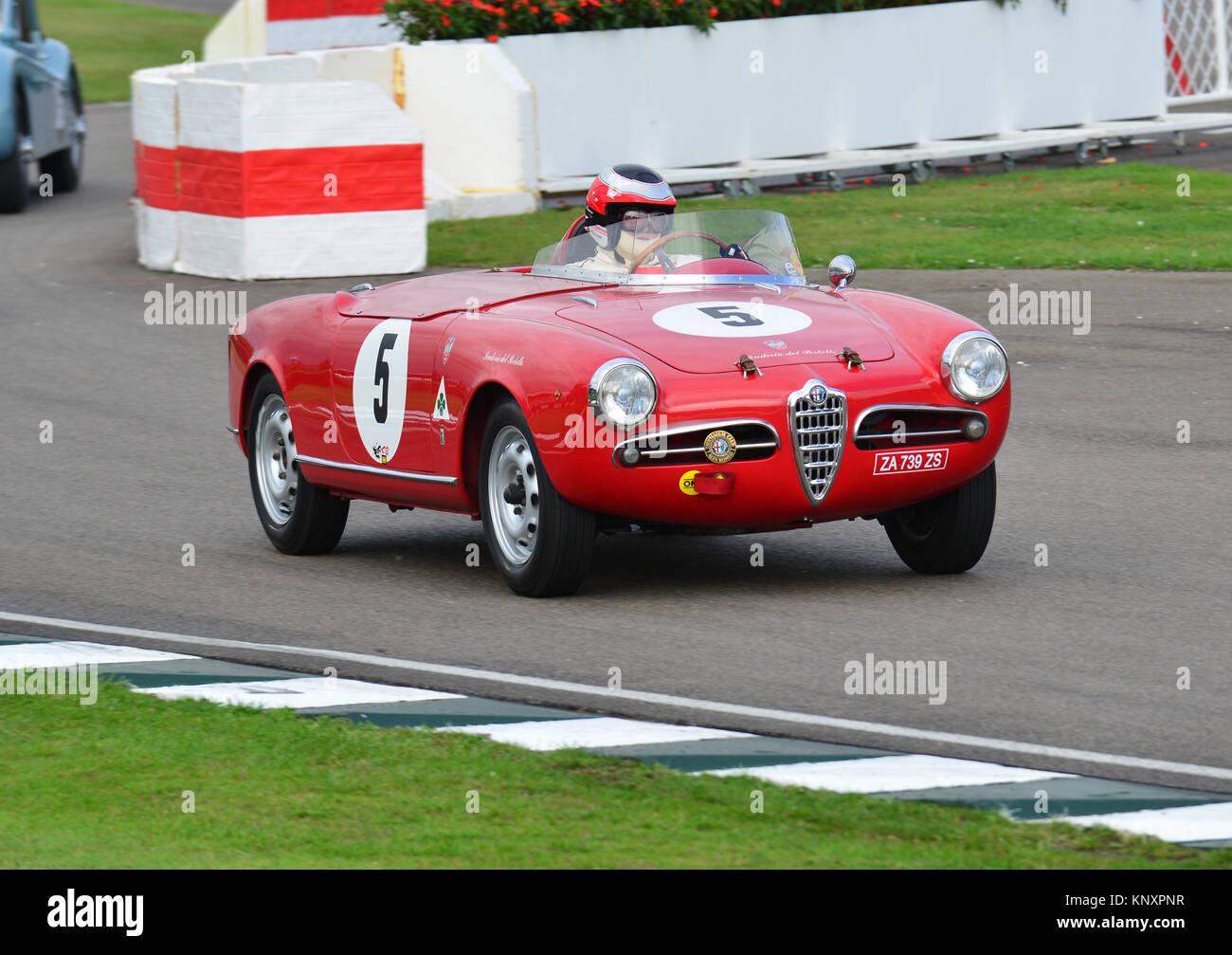 Marco Cagjani, Alfa Romeo Giulietta Sebring Spider, Fordwater Trophy ...