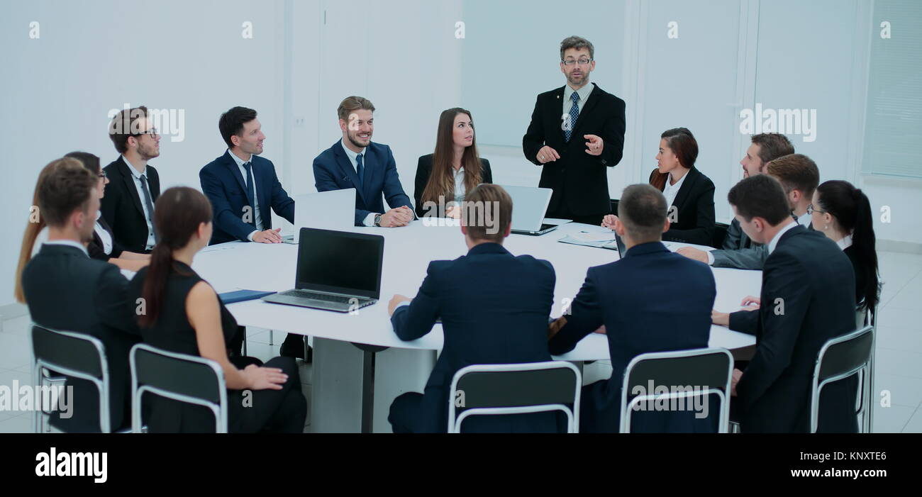 Business People In A Conference Room.   Stock Image