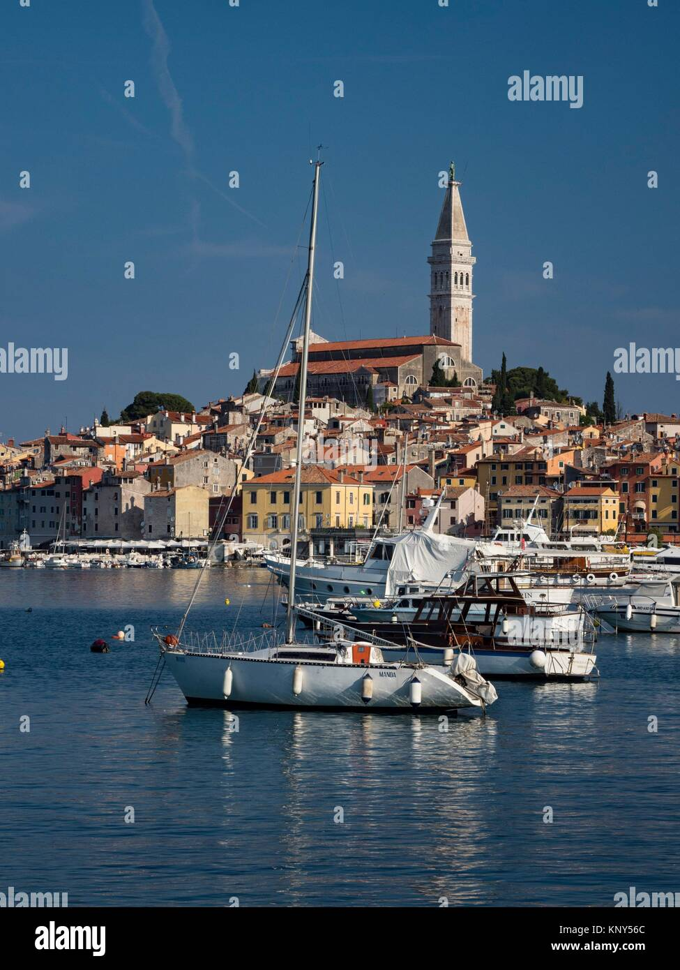 Rovinj Croatia Seaside. - Stock Image