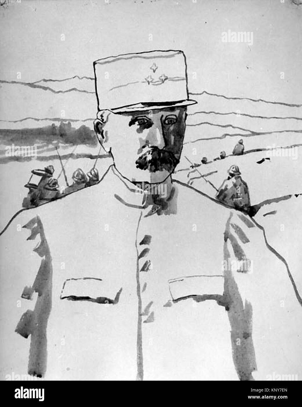 General Pétain MET sf55.17.3 488849 - Stock Image
