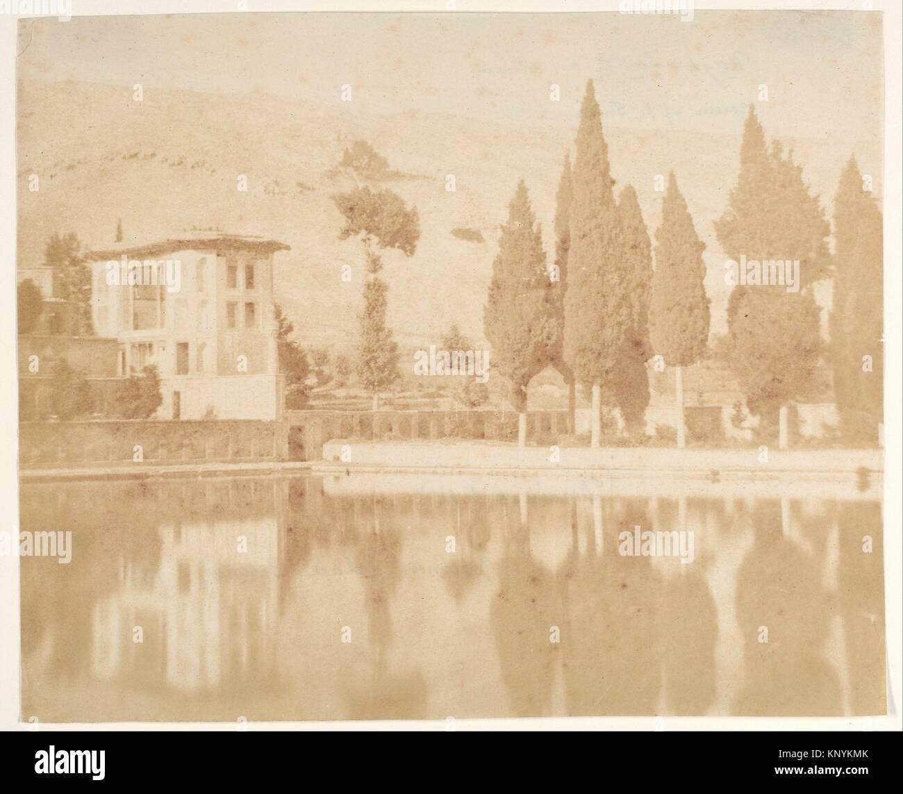 Bagh-takt a chiraz. Artist: Luigi Pesce (Italian, 1818-1891); Date: 1858; Medium: Salted paper print from paper - Stock Image
