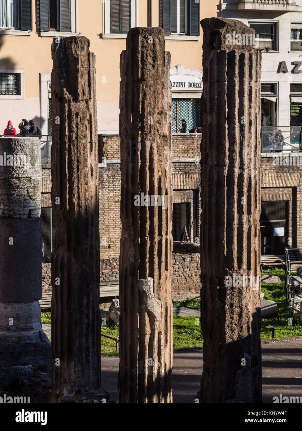 Area Sacra di Largo Argentina, Rome, Italy - Stock Image