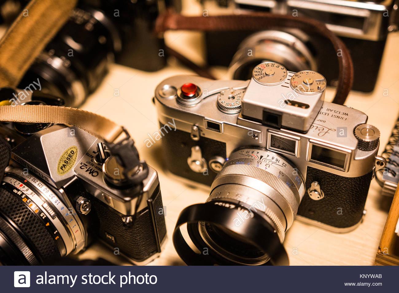 Retro Leica camera M3 - Stock Image