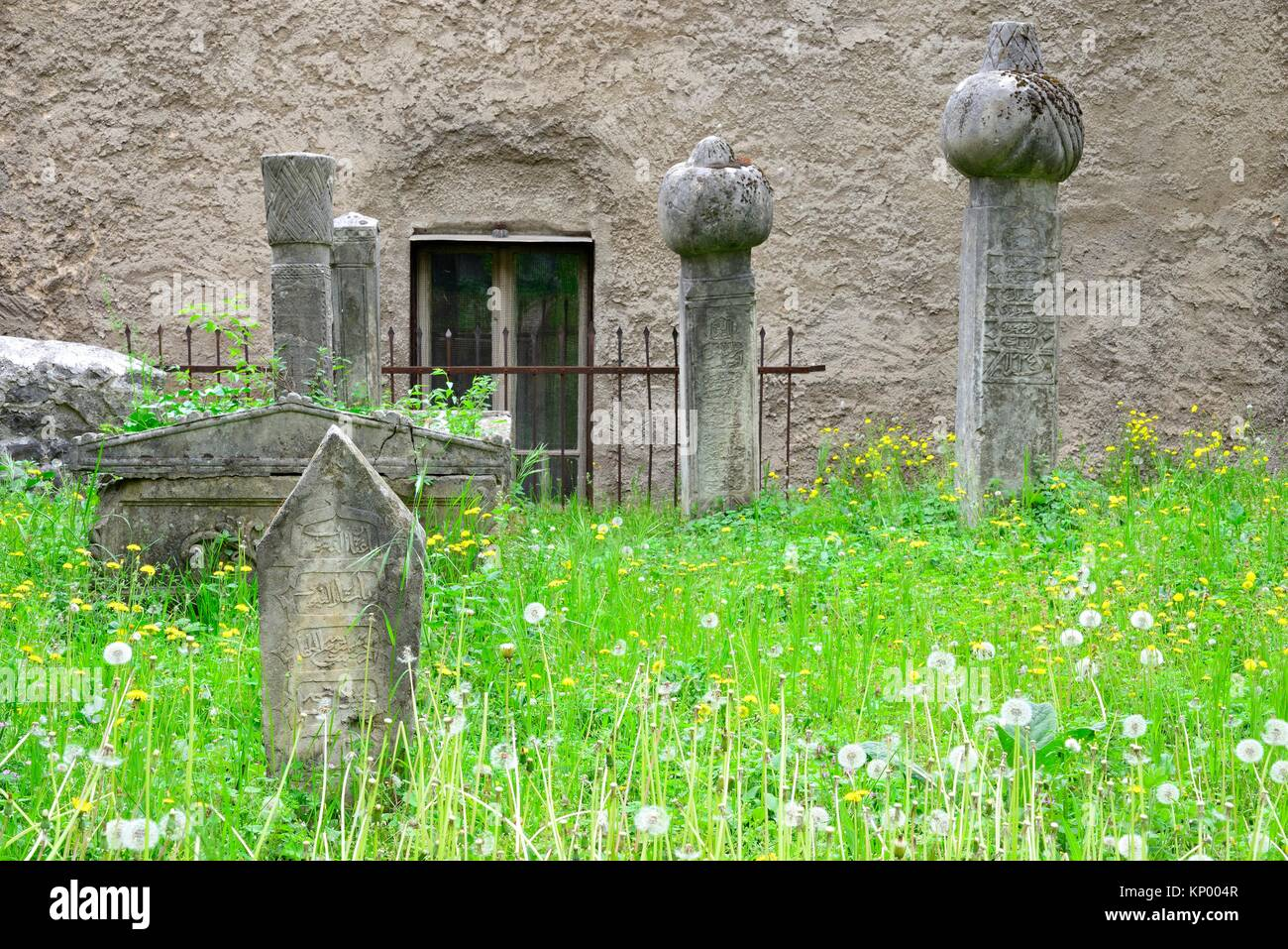 Cejvan Cementery in Mostar, Bosnia and Herzegovina Stock Photo
