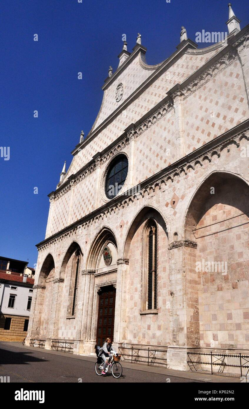 Vicenza, Italy: Duomo Vescovile - Stock Image
