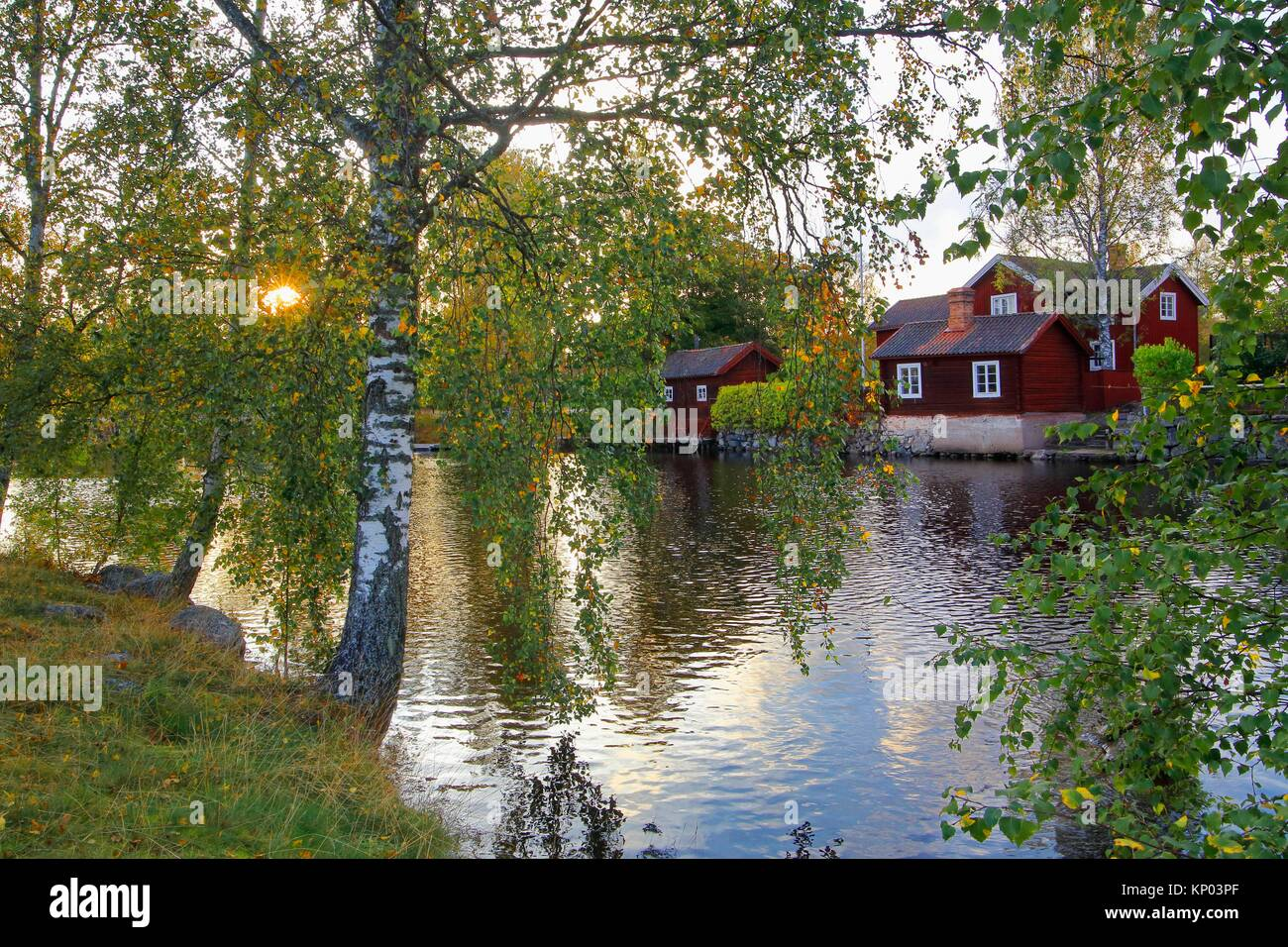 Sundborn Dalarna Sweden Stock Photo