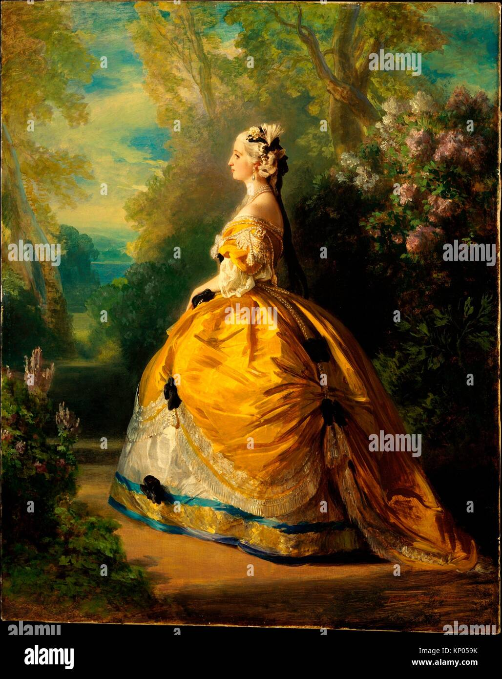 The Empress And Death Antique Tarot Cards: Eugenie De Montijo Stock Photos & Eugenie De Montijo Stock