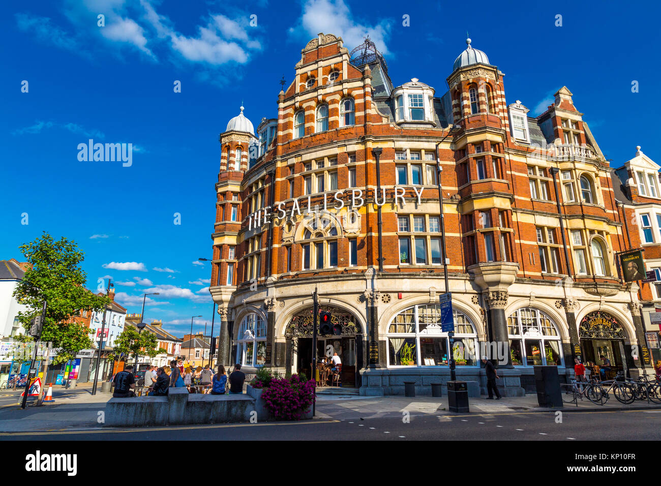 The Salisbury Hotel, London, UK - Stock Image