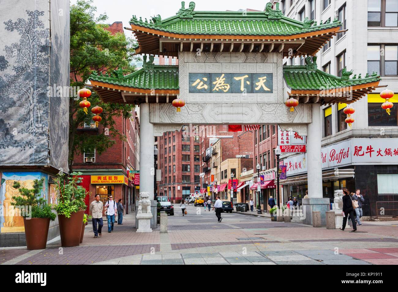 Chinatown Boston High Resolution Stock Photography And Images Alamy