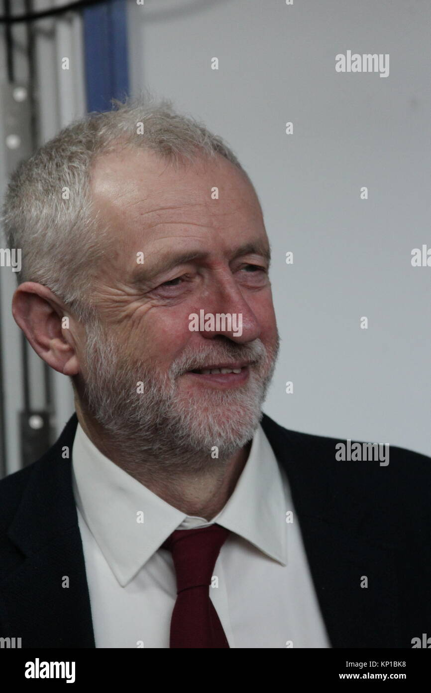 Jeremy Corbyn at the Welsh Labour Party Conference, Llandudno, Wales - Stock Image