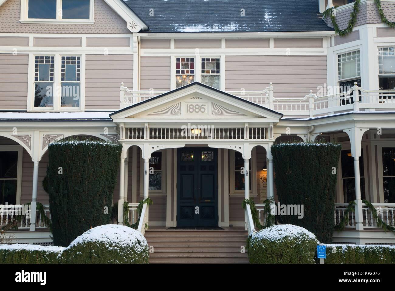 Marshall House, Fort Vancouver National Historic Site, Vancouver National Historic Reserve, Washington. - Stock Image