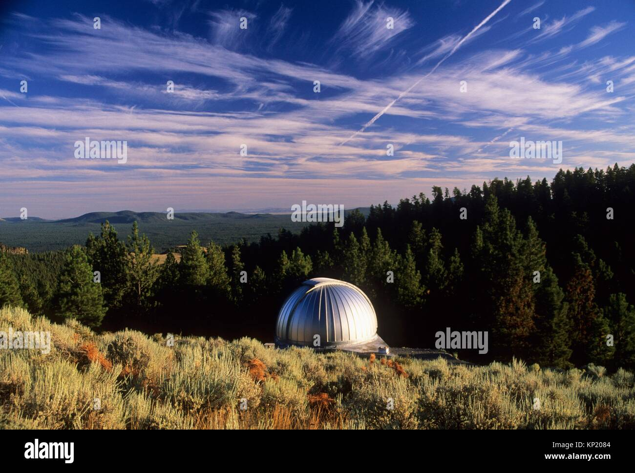 Pine Mountain Observatory, Deschutes National Forest, Oregon. - Stock Image