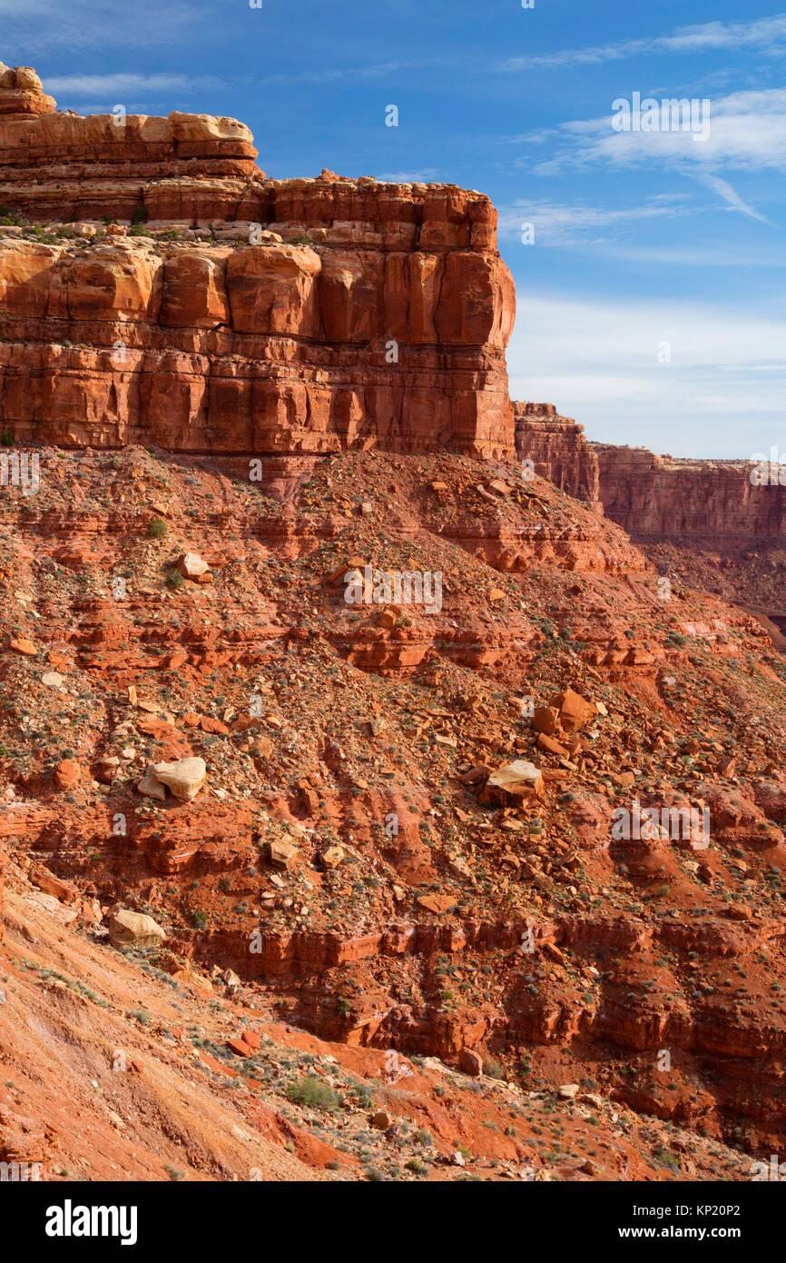 Cedar Mesa, Moki Dugway, Utah. - Stock Image