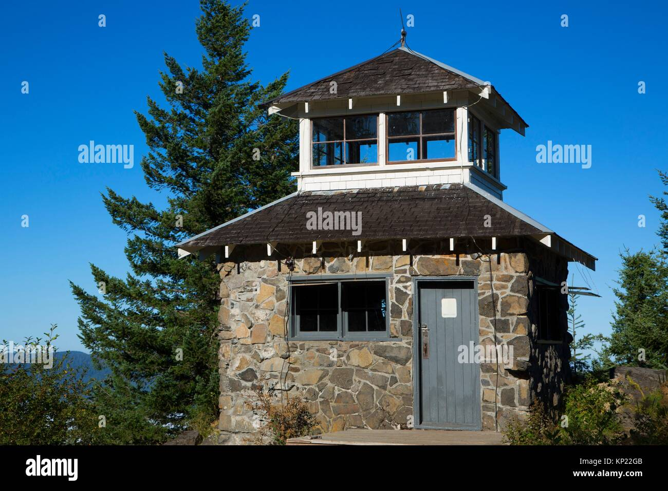 Pechuck Lookout, Salem District Bureau of Land Management, Oregon. - Stock Image