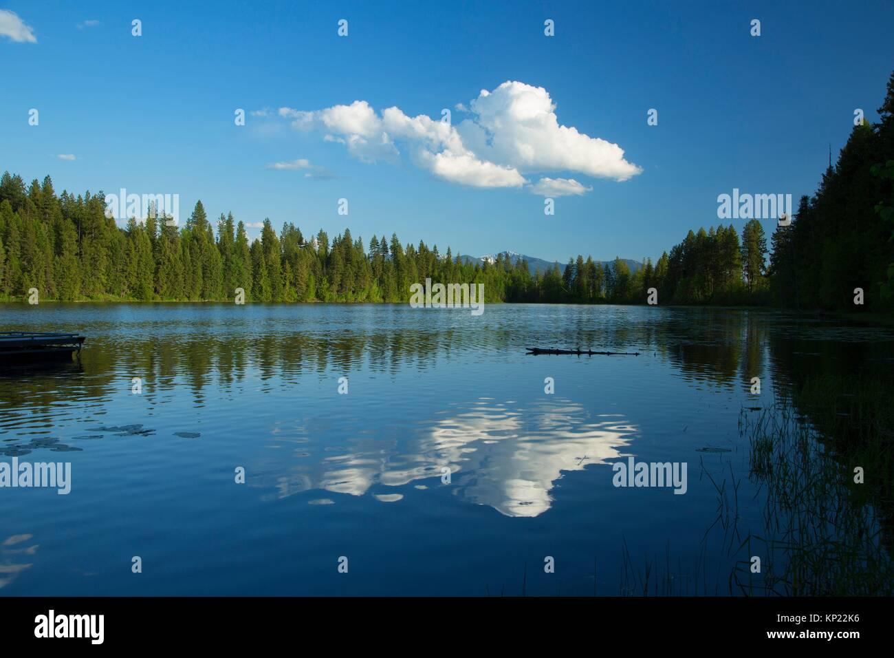 Smith Lake, Kaniksu National Forest, Idaho. - Stock Image