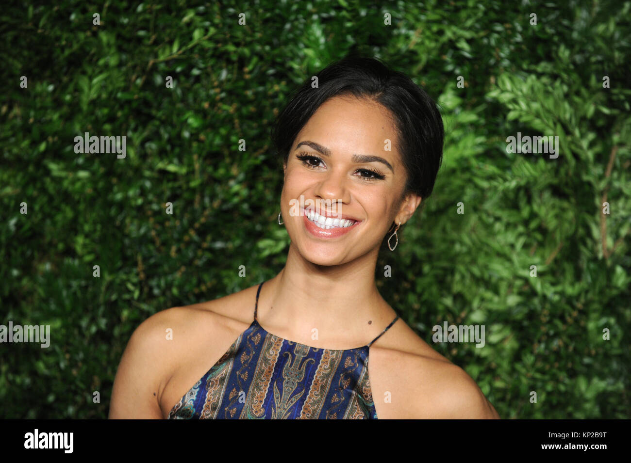 NEW YORK, NY - NOVEMBER 02: Misty Copeland attends the 12th annual CFDA/Vogue Fashion Fund Awards at Spring Studios - Stock Image