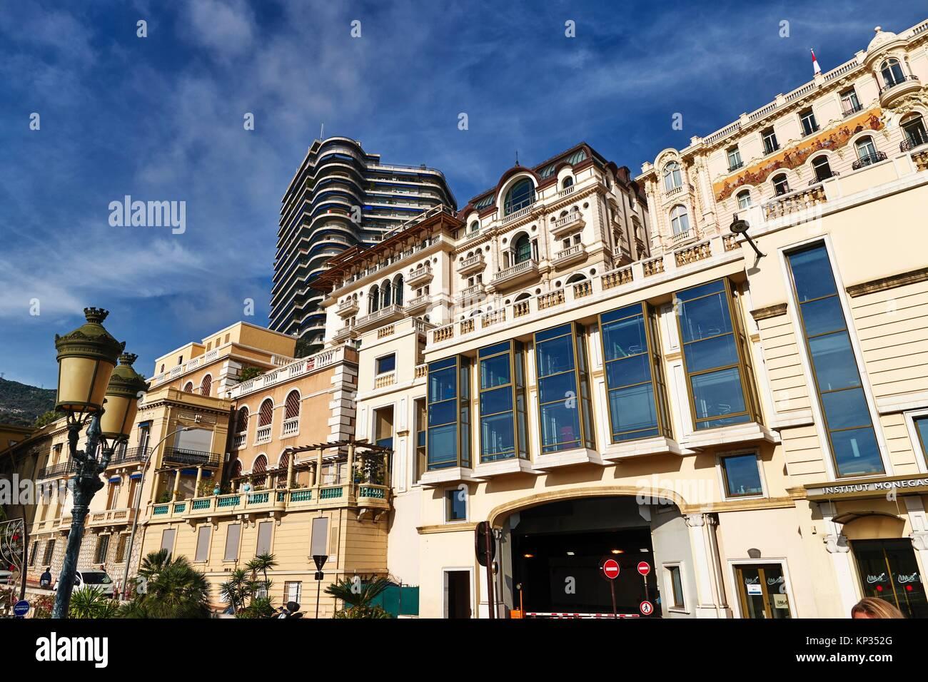 Montecarlo, Monaco Principality. Modern buildings, the Cardio Thoracic Center - Stock Image