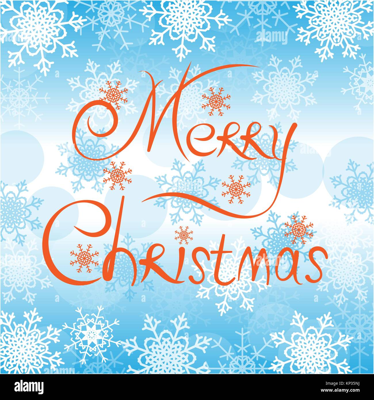 Greetings Christmas Card Stock Vector Images Alamy