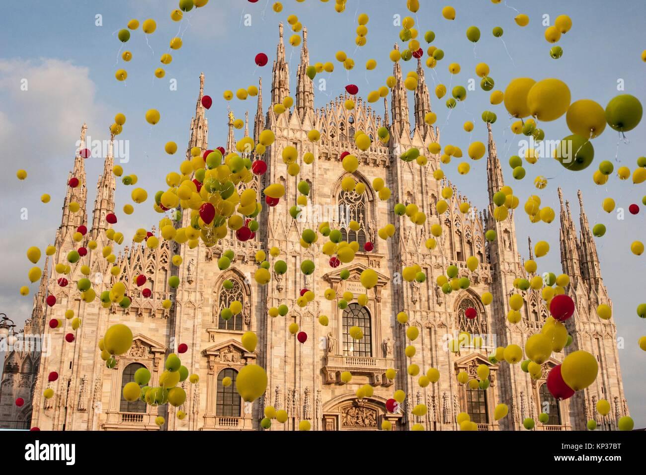 Duomo, Milan, Lombardy, Italy. Stock Photo