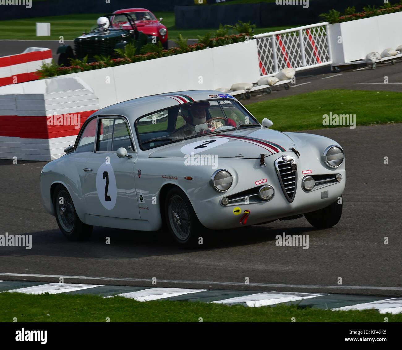 Marco Cajani, Alfa Romeo 1900 CSS Zagato, Fordwater Trophy, Goodwood ...