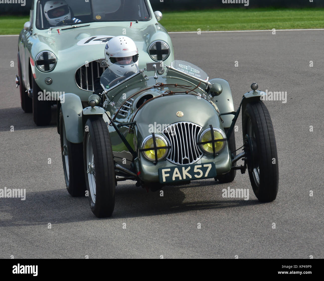 Simon Evans, MG TC, FAK 57, Fordwater Trophy, Goodwood Revival 2015,
