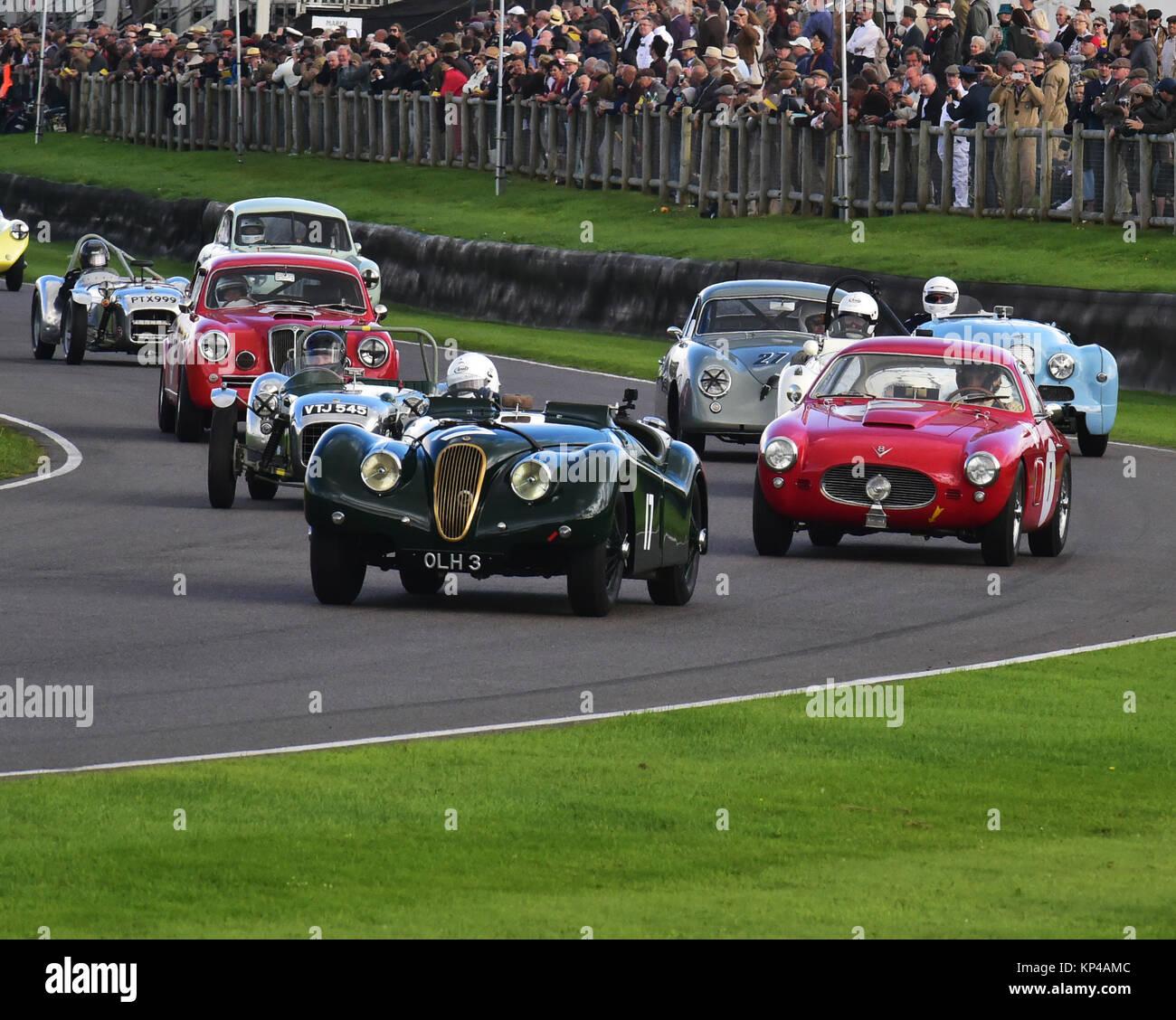 Jaguar Xk120 Coupe: Nick Finburgh, Jaguar XK 120 Roadster, OLH 3, Fordwater
