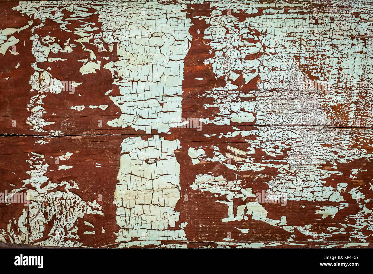 texture of wooden boards with peeling paint texture of old wooden