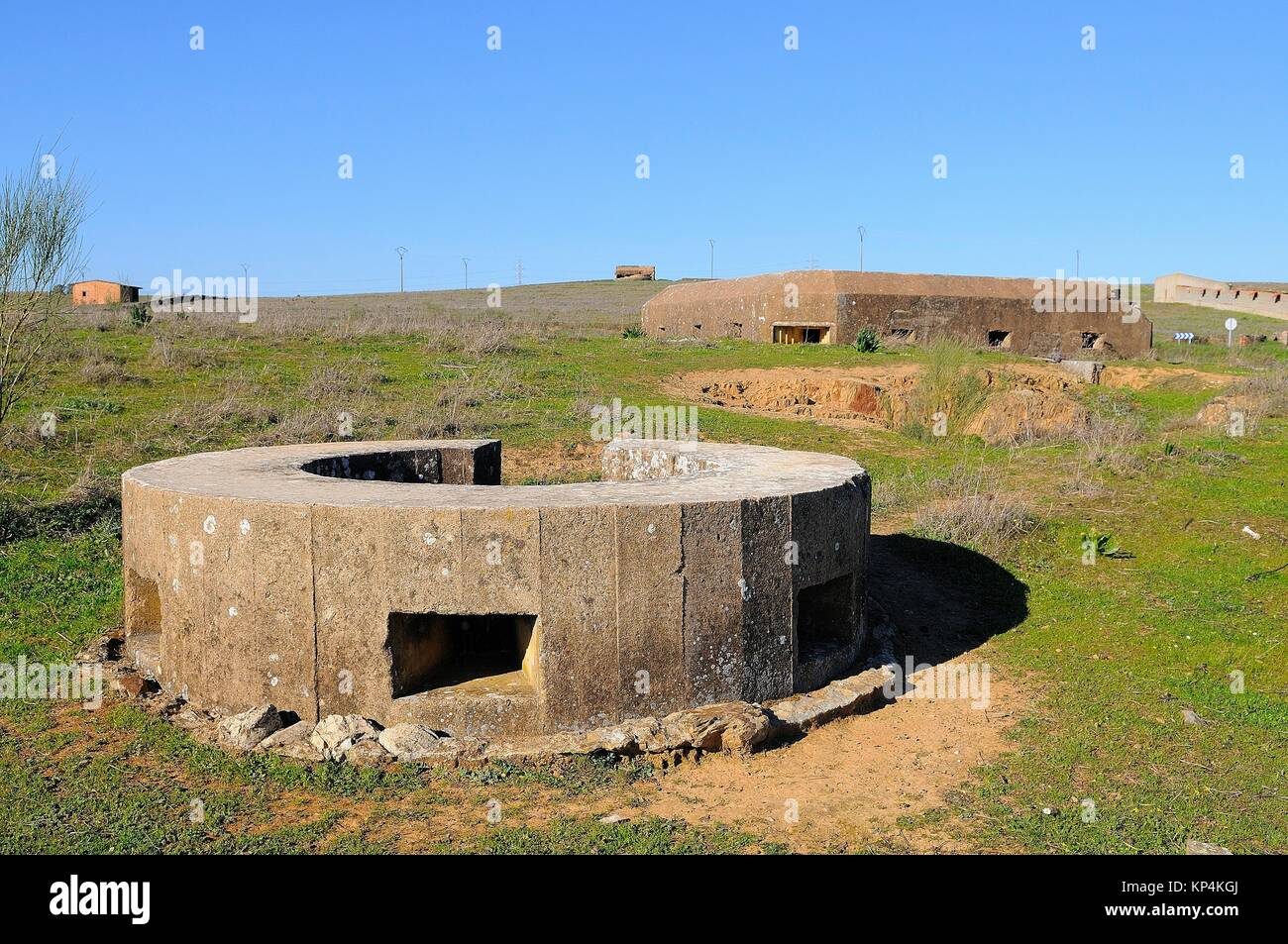 Bunker remains stock photos bunker remains stock images alamy - Casas de don pedro badajoz ...
