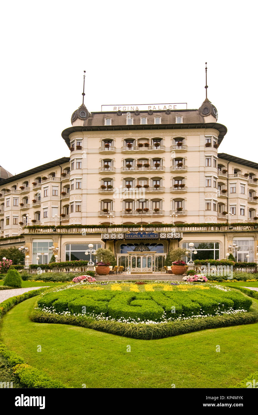 Regina Palace Hotel Stresa High Resolution Stock Photography And Images Alamy
