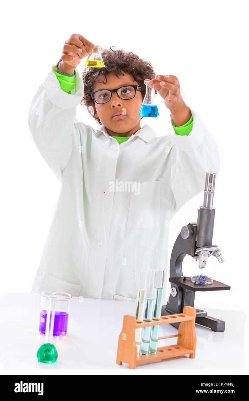 CHEMISTRY TEACHING - Stock Image