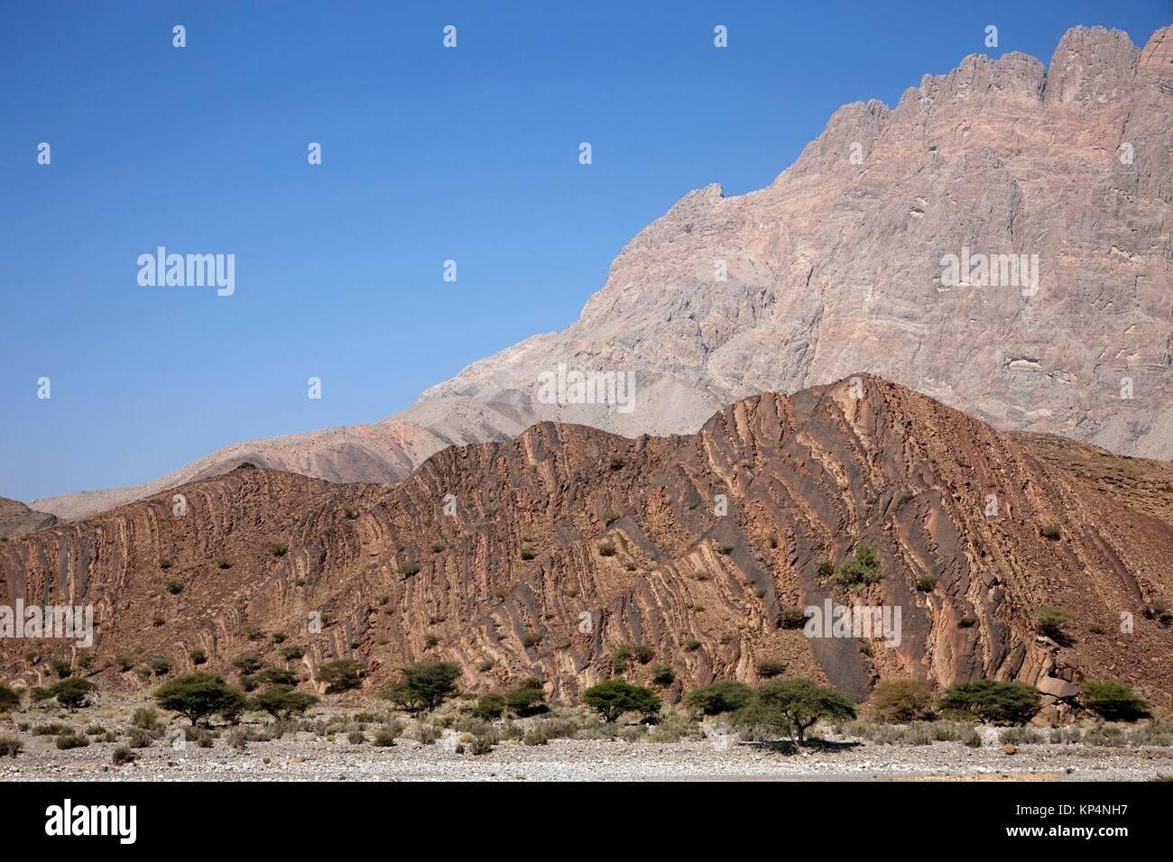 Necropolis de Al Ayn, Oman. - Stock Image