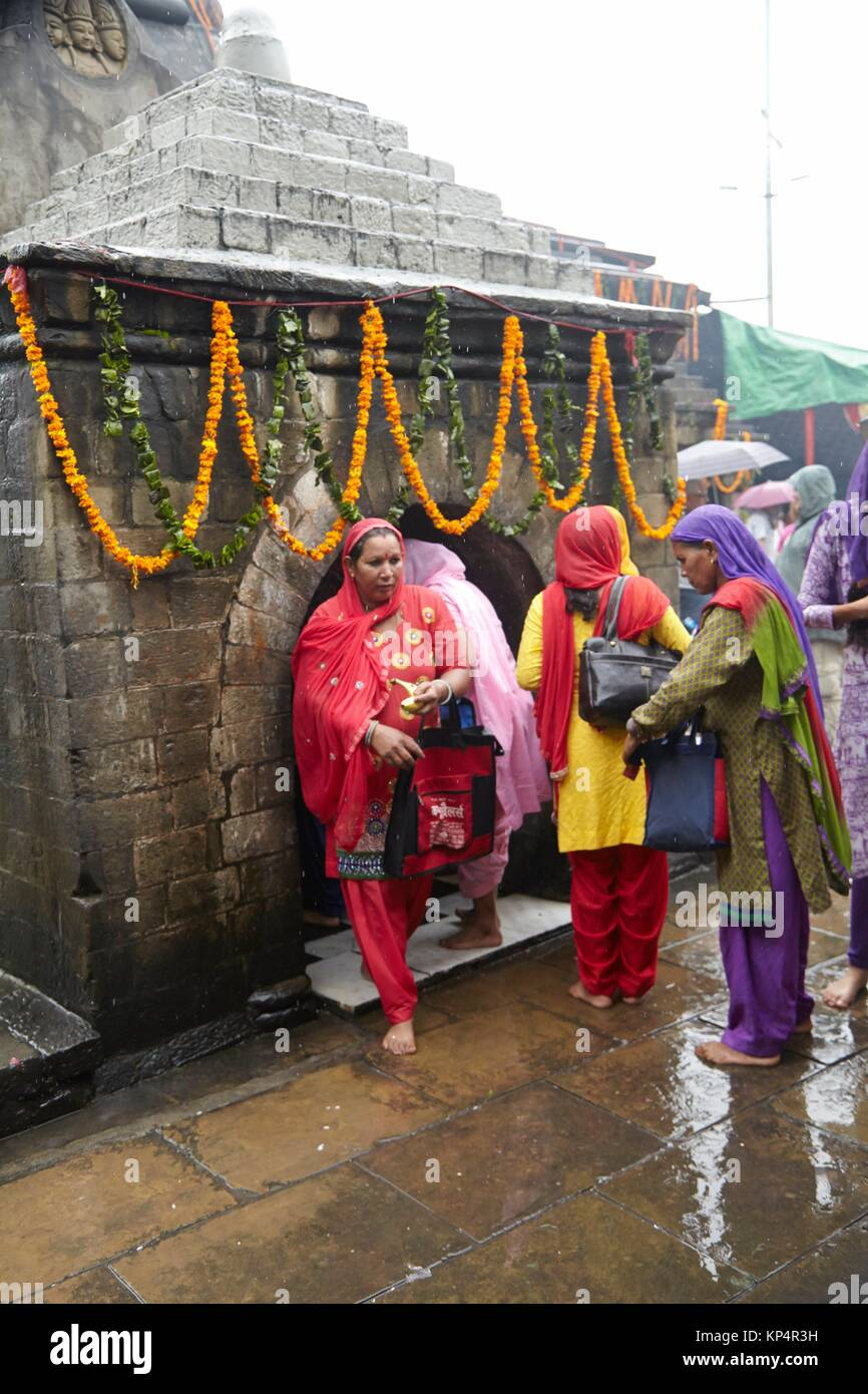 Festival in Baijnath Temple, Bajinath, Himachal Pradesh, India. - Stock Image