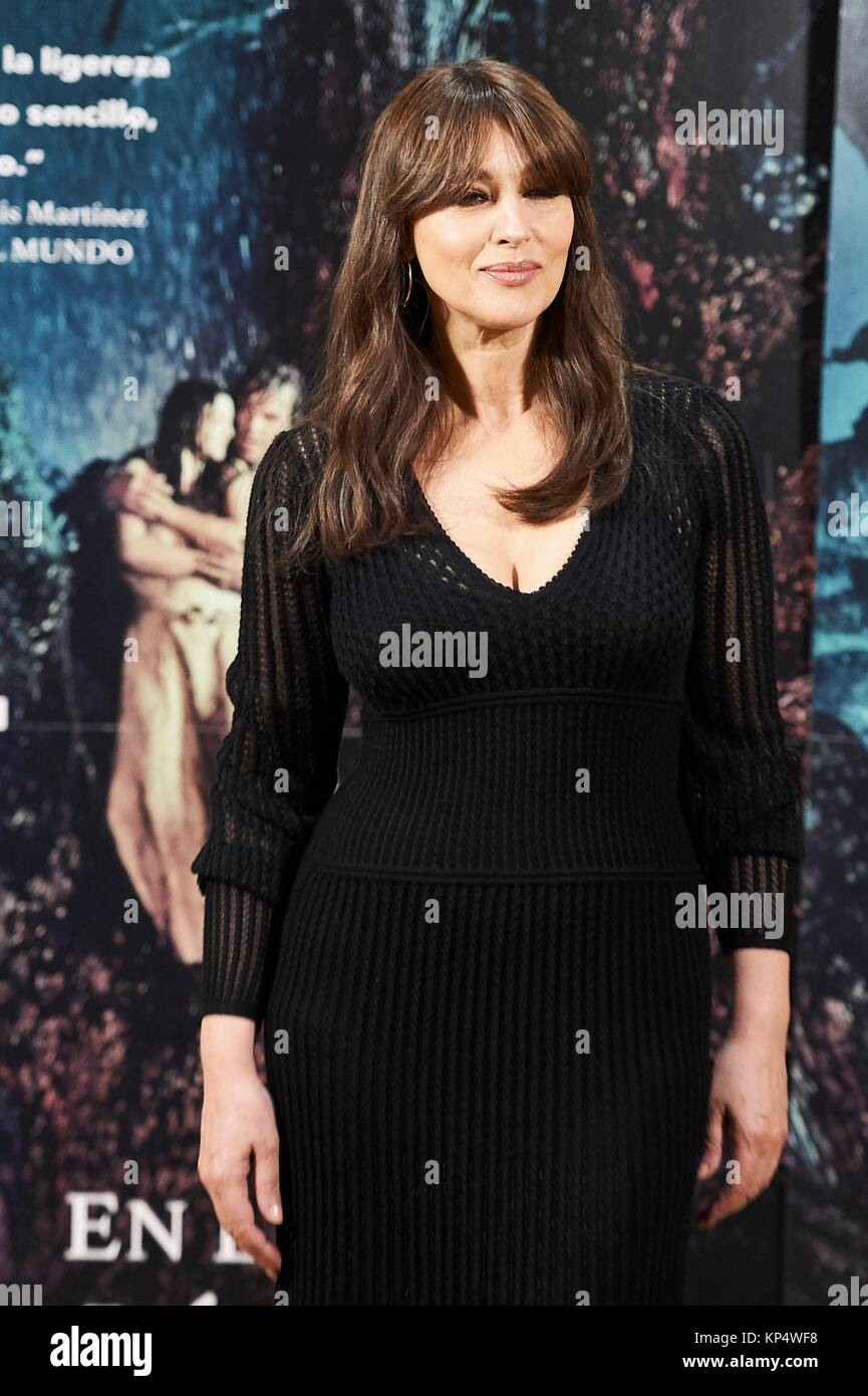 """Monica Bellucci attends a photocall for """"On The Milky Road"""" at Urso Hotel on June 29, 2017 in Madrid Stock Photo"""