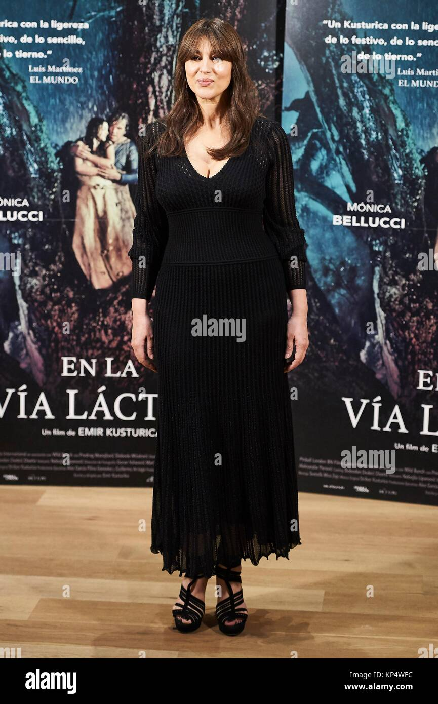 "Monica Bellucci attends a photocall for ""On The Milky Road"" at Urso Hotel on June 29, 2017 in Madrid Stock Photo"