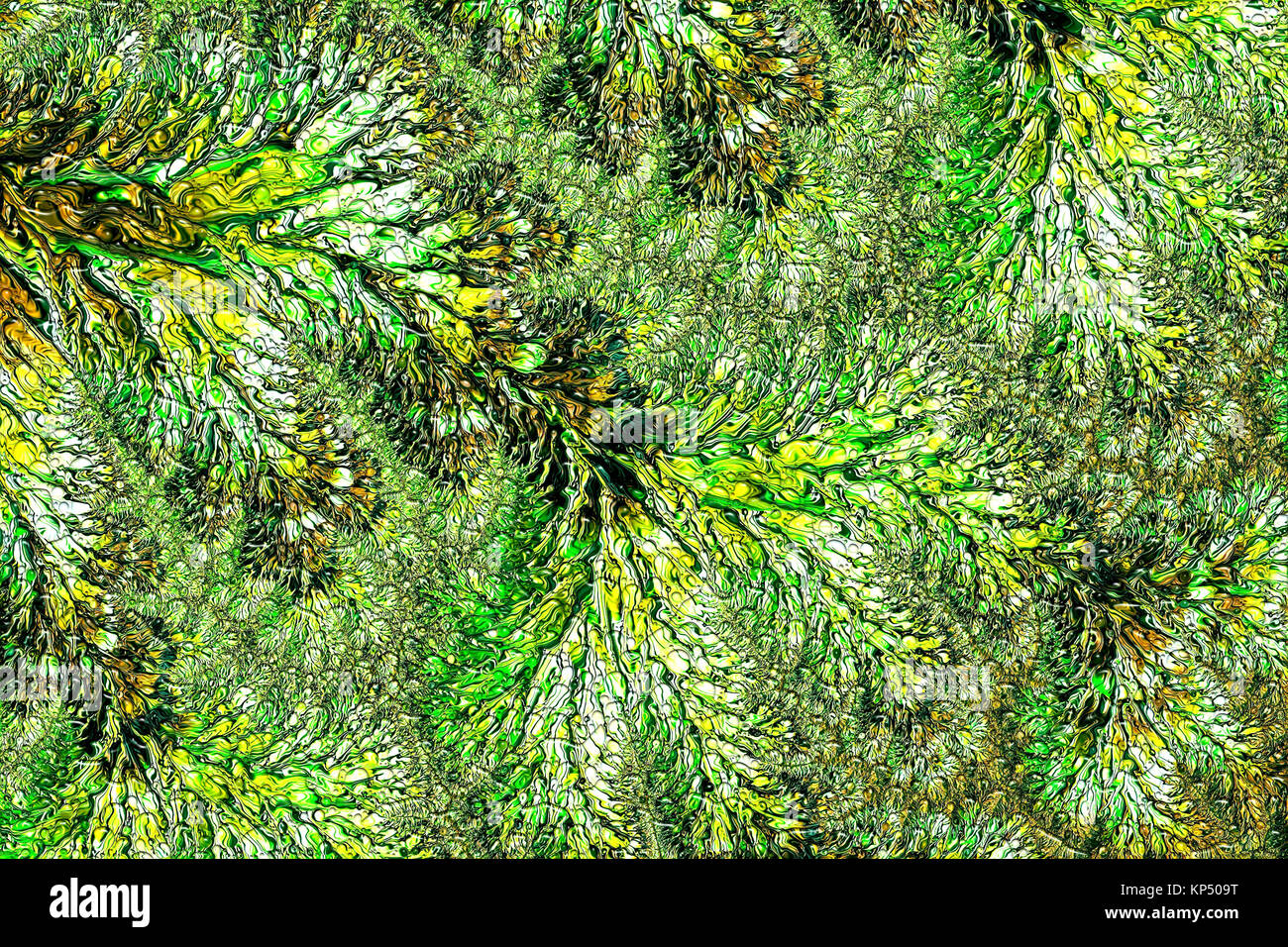 Fractal texture - abstract digitally generated image - Stock Image