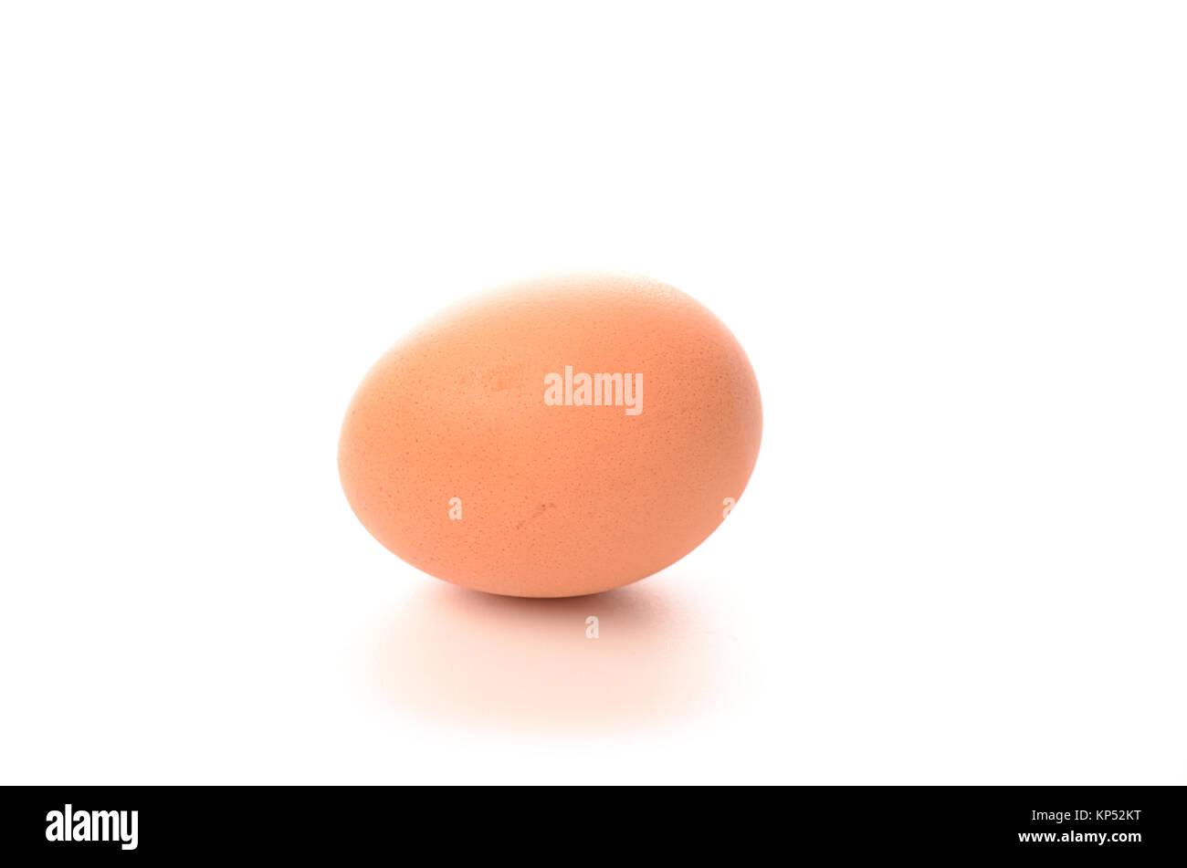 Brown egg - Stock Image
