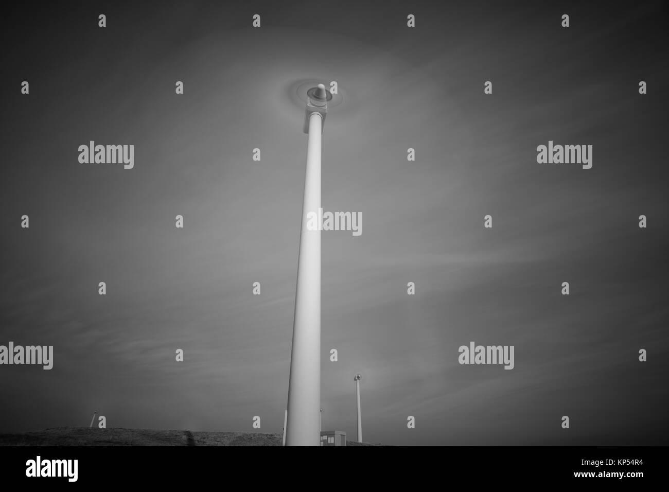 Rheidol wind farm. Ceredigion - Stock Image