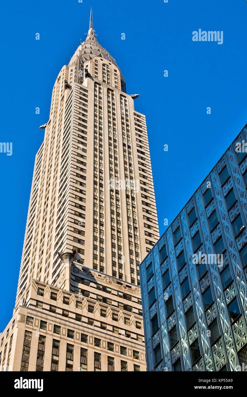 Chrysler Building, Midtown, Manhattan, New York City, New York, USA. - Stock Image
