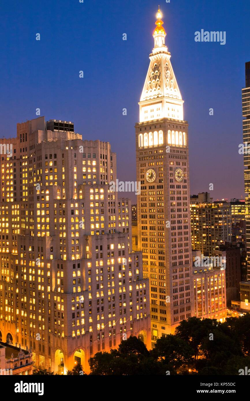 Met Life Insurance >> Metropolitan Life Insurance Company Tower The Clock Tower