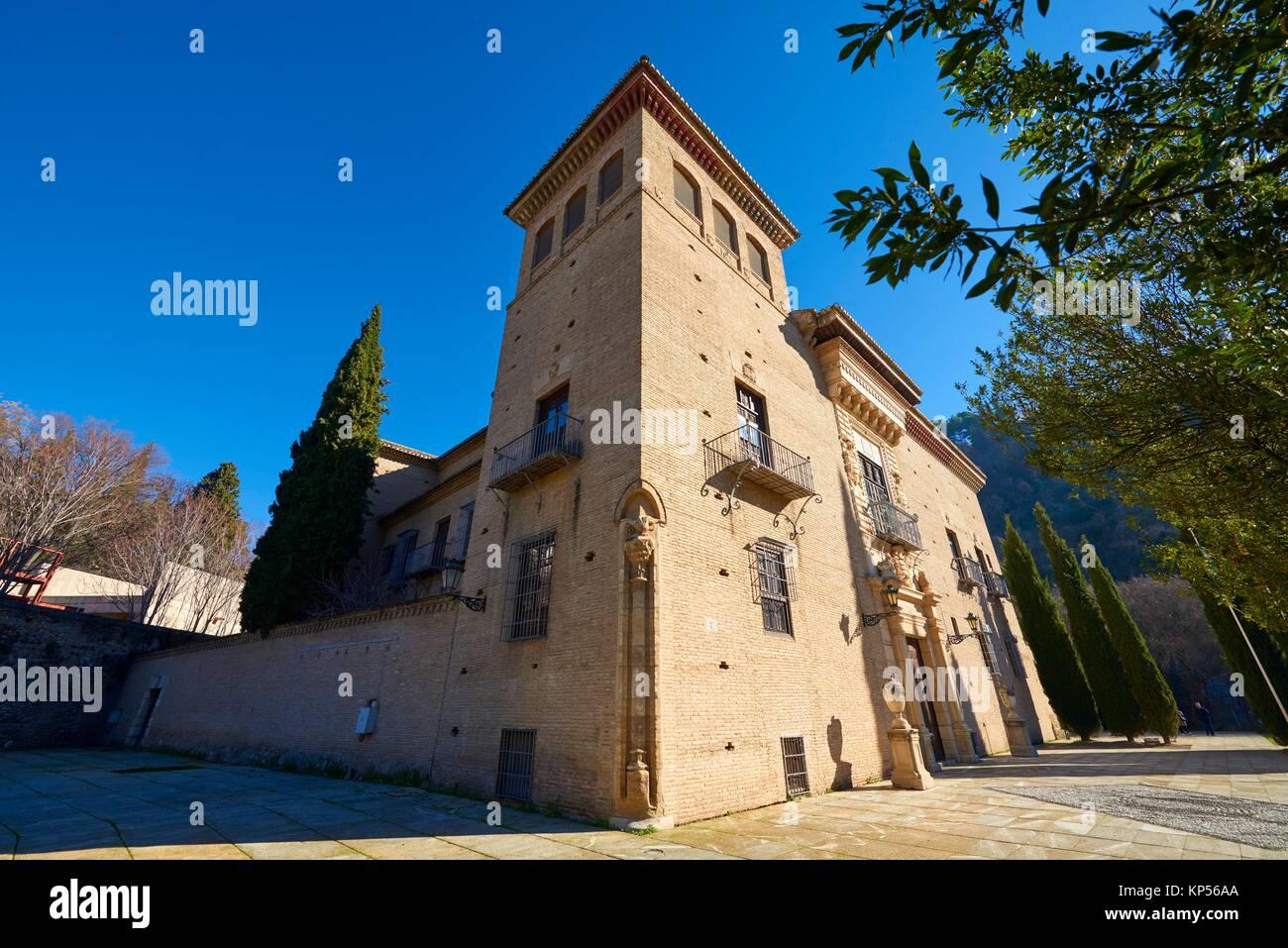 Palacio de los Córdova (Historical Archive), Granada, Andalusia, Spain, Europe. - Stock Image