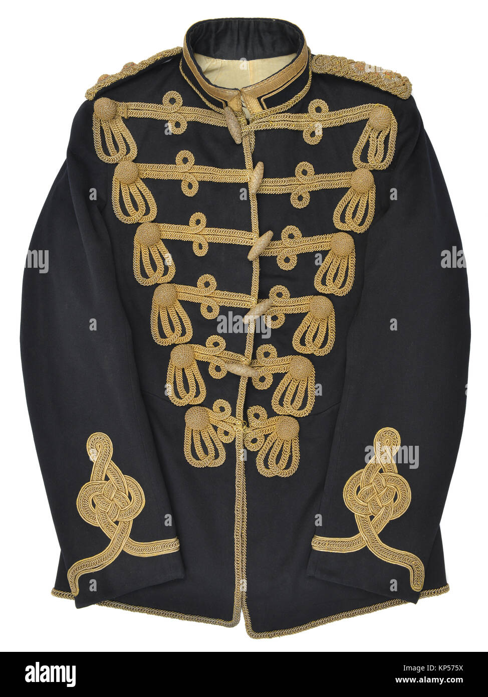 Soldier's tunic of the Middlesex Yeomanry - Stock Image