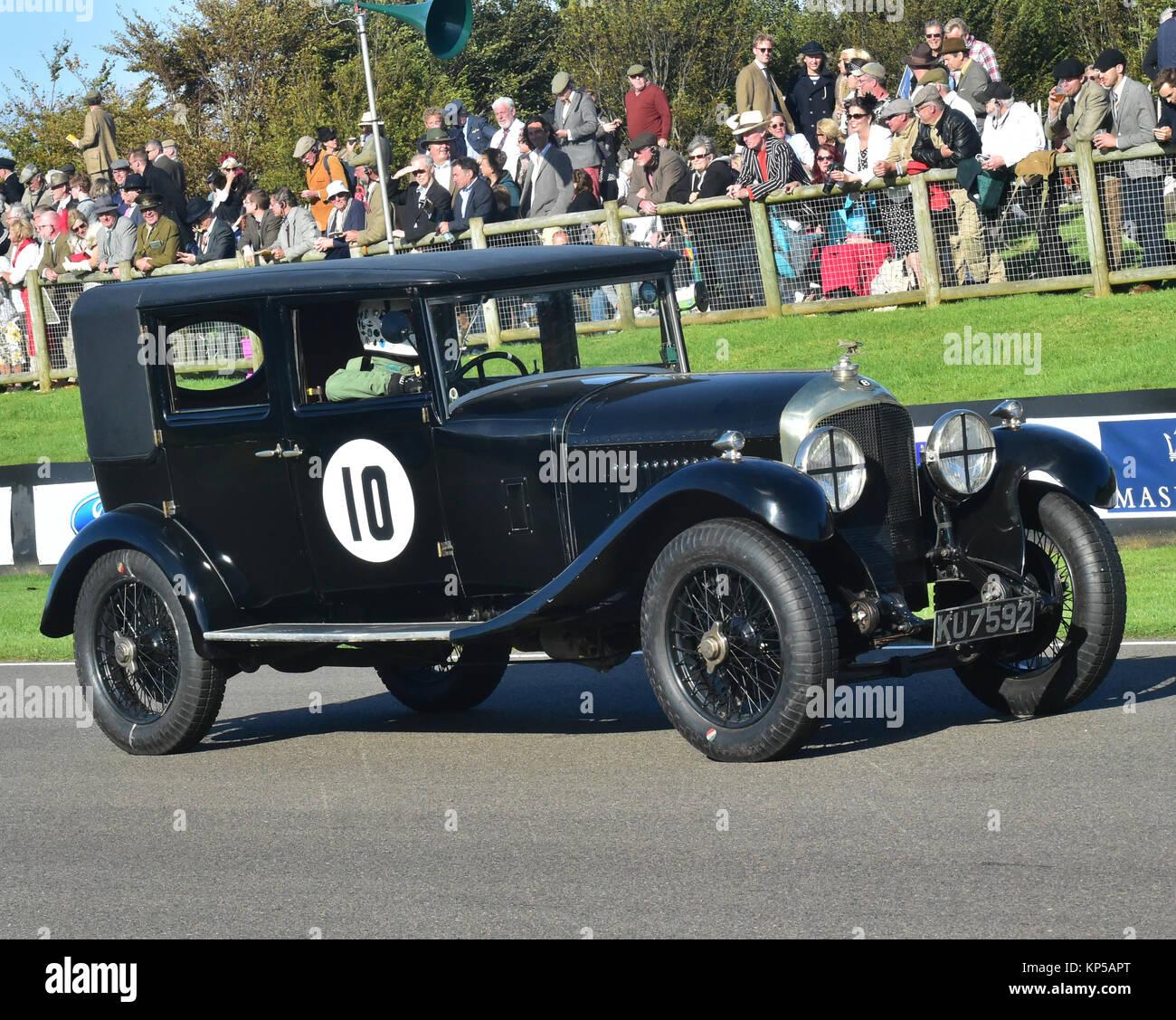 Classic 1936 Bentley 4 Derby Sports Saloon Sedan Saloon: Bentley Saloon Stock Photos & Bentley Saloon Stock Images