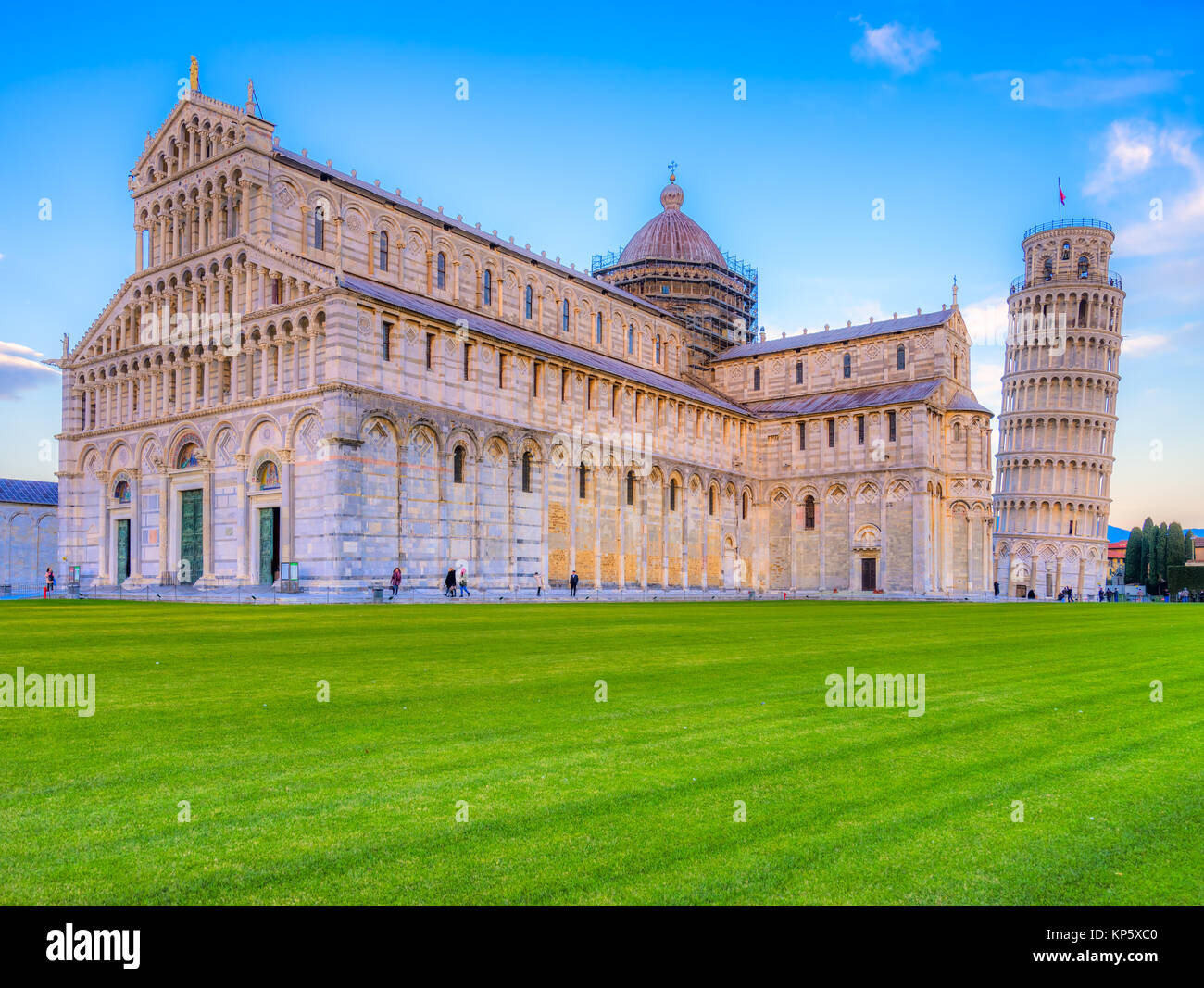 Pisa,The Leaning Tower. Tuscany, Italy. - Stock Image
