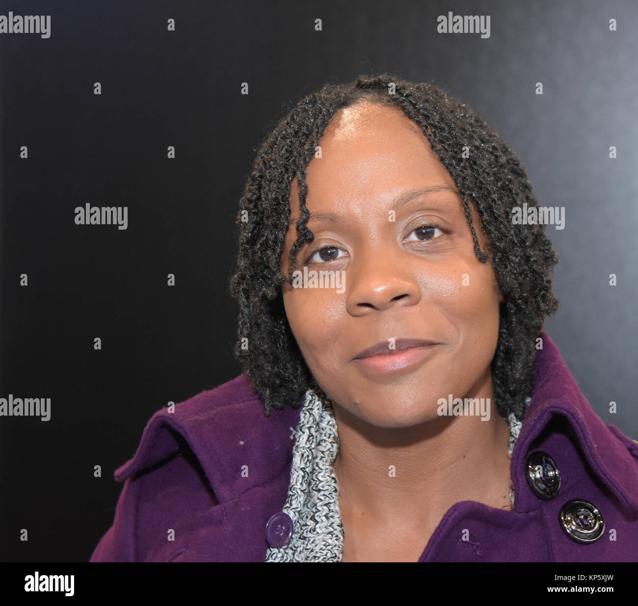 Dortmund, Germany - December 9th 2017: US Actress Indigo