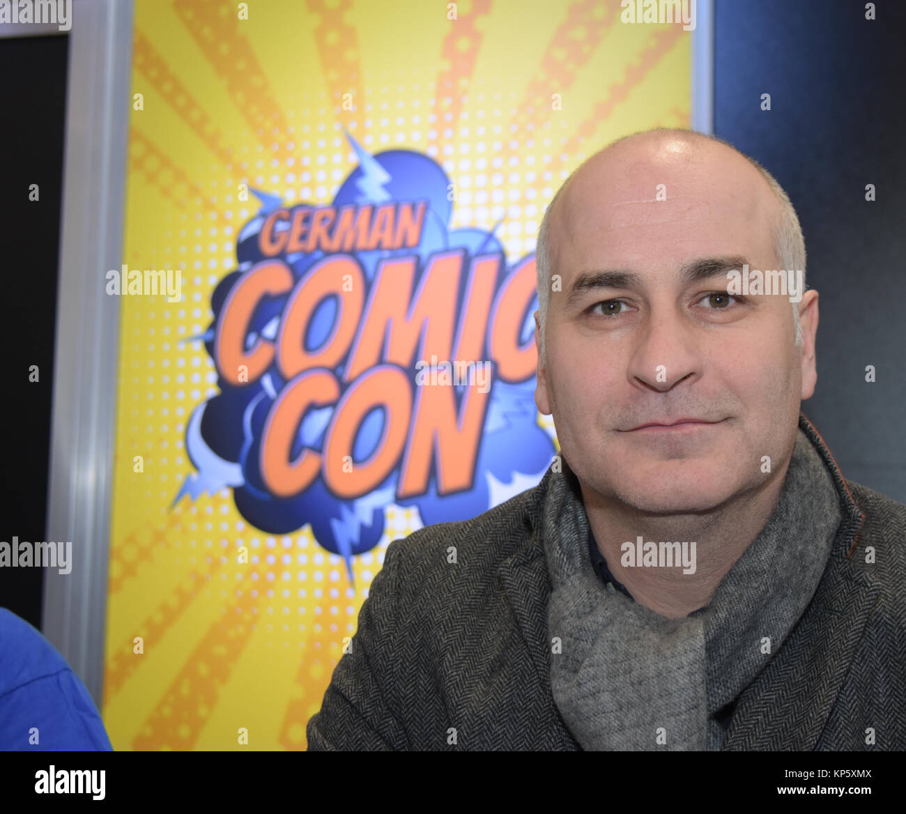 Dortmund, Germany - December 9th 2017: US Actor and Stuntman Daniel Naprous (* 1977, Star Wars: Rogue One, Harry - Stock Image