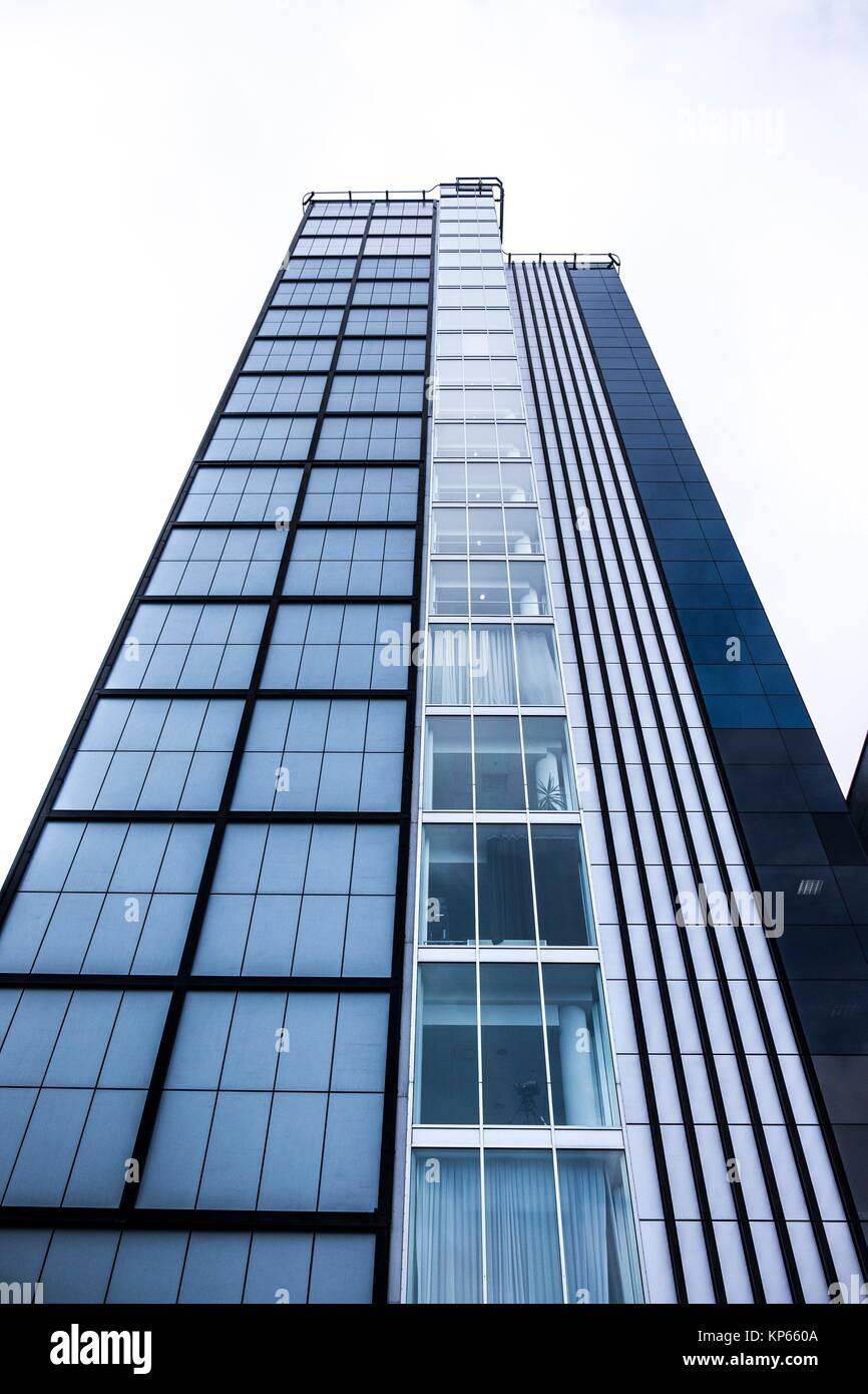 High rise building in Tallinn, Estonia, Europe. Stock Photo