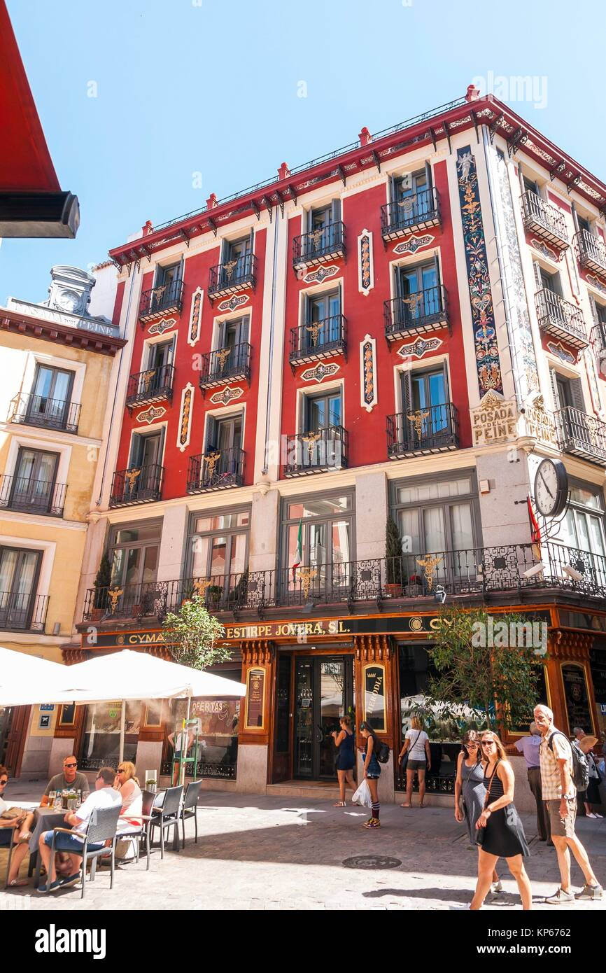 Peine stock photos peine stock images alamy for Posada puerta del sol