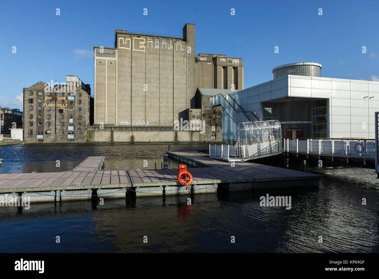 The Docklands, Dublin, Ireland, Europe - Stock Image